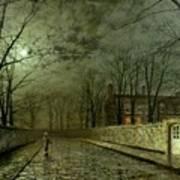 Silver Moonlight Poster