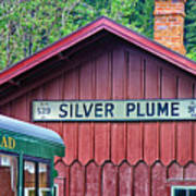 Silver Plume Station Poster