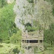 Silver White Willow Poster by Aleksandr Jakovlevic Golovin