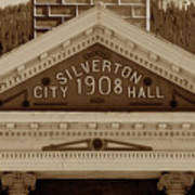 Silverton City Hall 1908 Poster