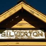 Silverton Train Station Poster