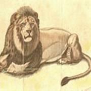 Simba The Lion Poster