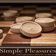 Simple Pleasures Poster Poster