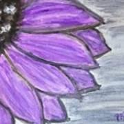 Simple Purple  Poster
