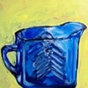 Simply Blue Poster by Sheila Tajima