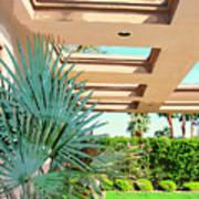 Sinatra Patio Palm Springs Poster