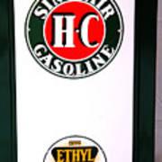 Sinclair Gas Pump Poster