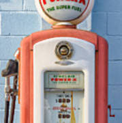 Sinclair Power-x Gas Pump Poster