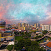 Singapore Rochor Commercial And Residential Mixed Area Poster