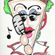 Singer Sandwich Poster