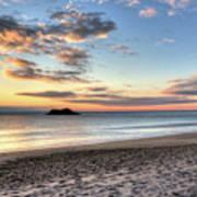Singing Beach Manchester Ma Sunrise Island Poster