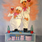 Singing Chefs Poster