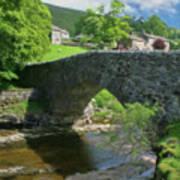 Single Arch Stone Bridge - P4a16018 Poster