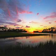 Sink Creek Sunset Poster