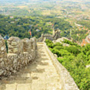 Sintra Moorish Castle Wall Poster