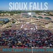 Sioux Falls Rise/shine 3 W/text Poster