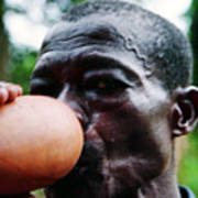 Sipping Palm Wine Poster