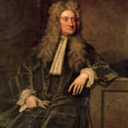 Sir Isaac Newton  Poster by Sir Godfrey Kneller