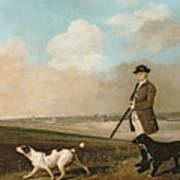 Sir John Nelthorpe Poster by George Stubbs