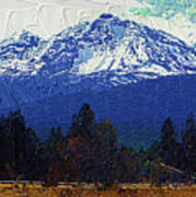 Sisters Oregon Ranch Poster