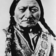 Sitting Bull 1831-1890 Lakota Sioux Poster by Everett