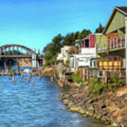 Gorgeous Siuslaw Riverfront Poster