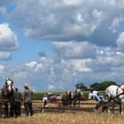 Six Horses Poster