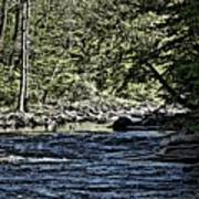 Six Mile Creek Ithaca Ny Poster
