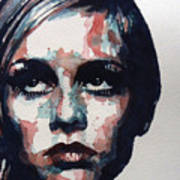 Sixties Sixties Sixties Twiggy Poster by Paul Lovering