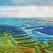 Skaftafell Floodplain Poster