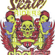 Skate Riders Poster