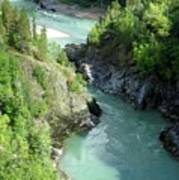 Bulkley River Canyon Poster