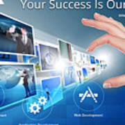 Skginfosolutions-web Design And Development Poster