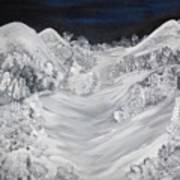 Ski Slope Poster