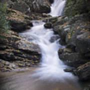 Skinny Dip Falls - Blue Ridge Mountains Poster