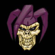 Skull 7 T-shirt Poster