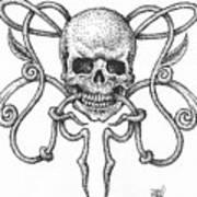 Skull Design Poster