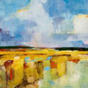 Sky And Marsh Poster