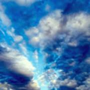 sky Poster by Niki Mastromonaco