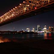 Skyline Bridge Poster