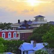 Skyline Charleston Sc Poster
