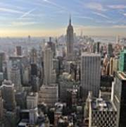 Skyline New York City  Poster