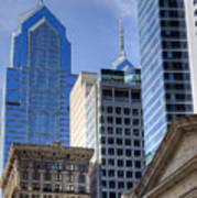 Skyscraper City Center  Liberty Place Poster