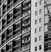 Skyscraper Detail Poster