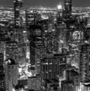 Skyscrapers Of Chicago Poster