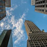 Skytops Manhattan Poster
