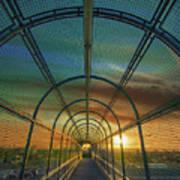 Slauson Sunset Poster