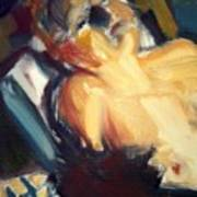 Sleeping Nude Poster