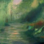Sleepy River Poster