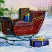 Sleigh Aceo Poster